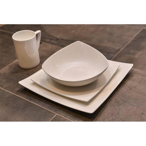 Extreme White Soup Bowl (Set of 4)