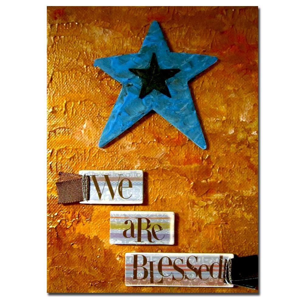 Amanda Rea 'Star' Canvas Art