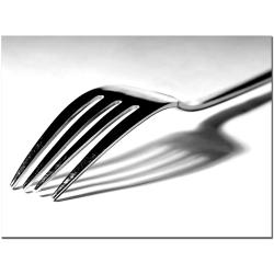Tammy Davison 'Fork' Canvas Art