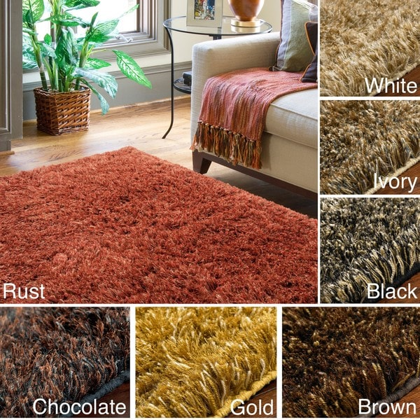 Hand-tufted Confetti Multi Wool Rug (8' x 10')