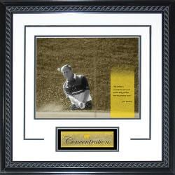 Steiner Sports Jack Nicklaus 'Concentration' White Framed 16x20 Photo - Thumbnail 1
