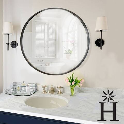 Highpoint Collection Porcelain Oval Undermount Vanity Sink - Biscuit