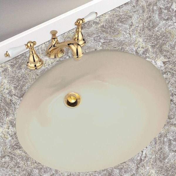 Highpoint Collection Porcelain Undermount Vanity Sink