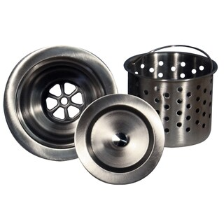 Highpoint Collection Kitchen Sink Stainless Steel Colander Basket Strainer