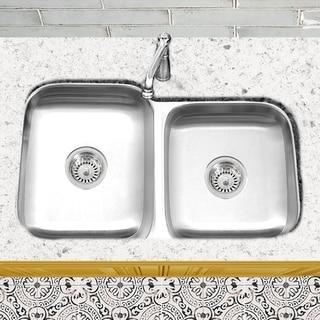 Shop Vigo 30 Inch Undermount Stainless Steel Kitchen Sink