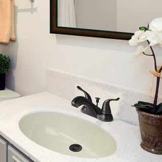 Link to Highpoint Collection 15x12 Bisque Undermount Vanity Sink Similar Items in Sinks