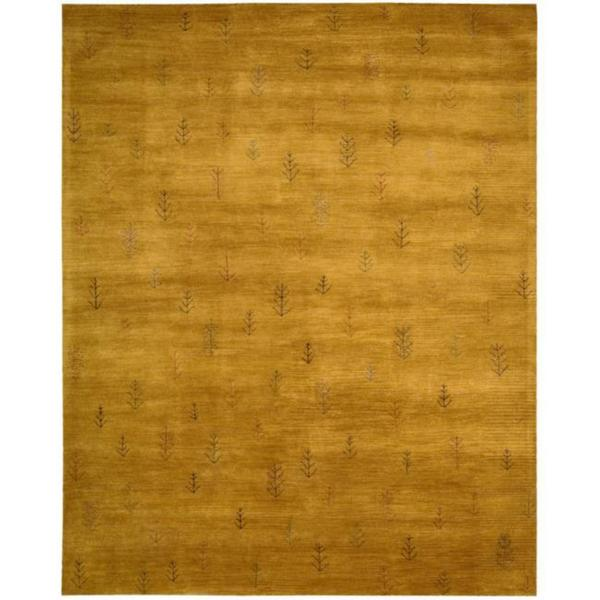 Nourison Hand-tufted Desert Dawn Gold Rug (7'6 x 9'6)