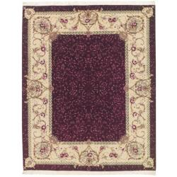 Nourison Hand-knotted Red Legacy Rug (8'6 x 11'6)
