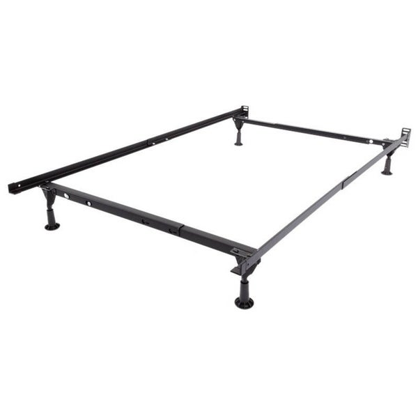Shop Rize Bed Frame Twin Full Or Queen With Rug Rollers Free