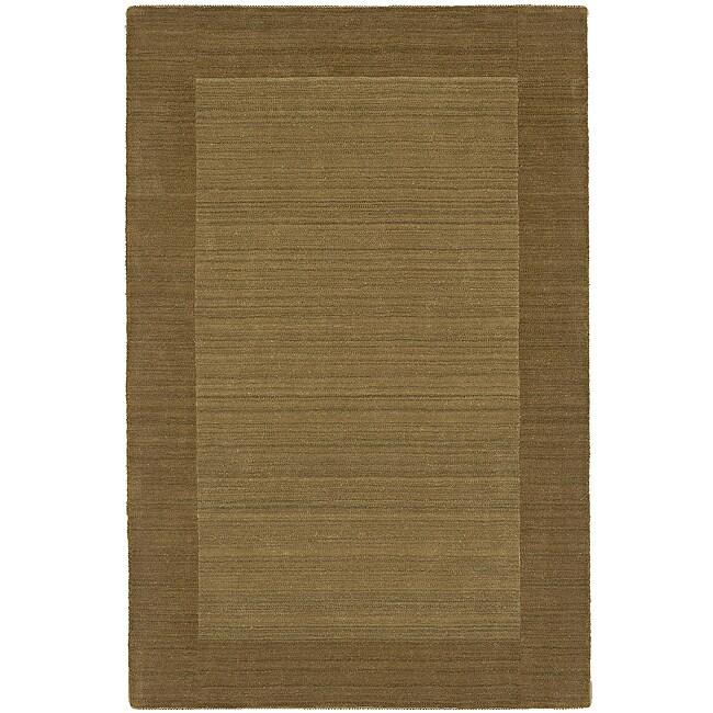 Regency Gold Wool Rug (5' x 7'9)