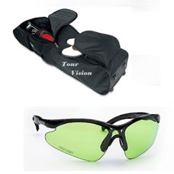 Tour Vision Travel Bag Signature Series Sunglasses Combo