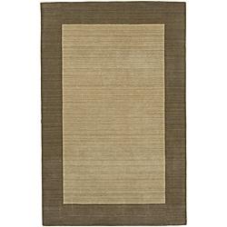 Regency Ivory Wool Rug (5' x 7'9)