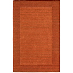 Regency Pumpkin Wool Rug (5' x 7'9)