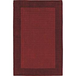 Regency Red Wool Rug (5' x 7'9)
