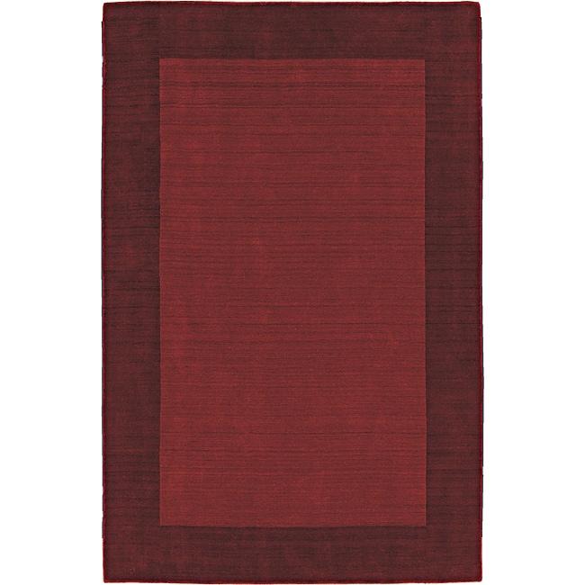 Regency Red Wool Rug (8' x 10')