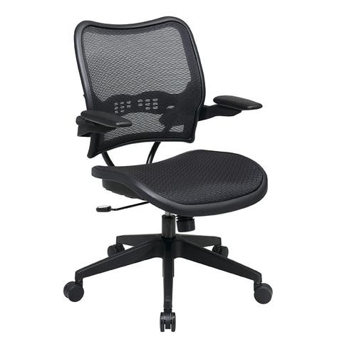 Deluxe AirGrid Seat and Back Cantilever Arms Office Chair - N/A