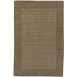 Regency Taupe Wool Rug (5' x 7'9)