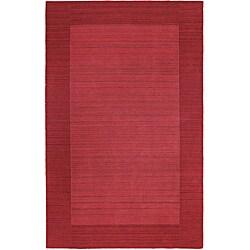 Regency Watermelon Wool Rug (5' x 7'9)