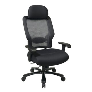 Office Star AirGrid Back and Mesh Seat Big and Tall Chair