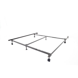 Rize Queen King California King Adjustable Bed Frame With Casters And Wheels