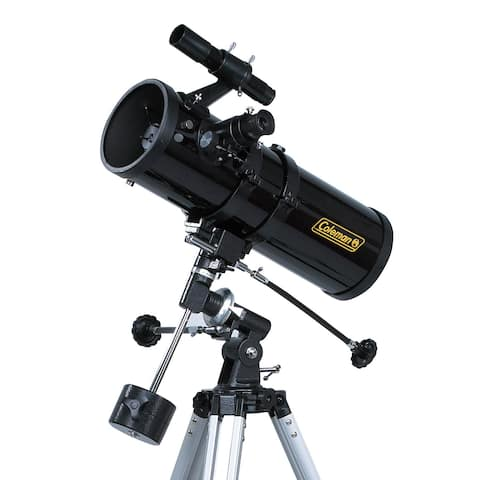 Coleman AstroWatch 500 x 114 Reflector Telescope with Starry Night CD Software