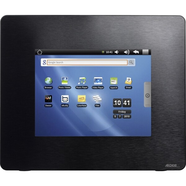 "Arnova 8 Tablet - 8"" - 4 GB - Android 2.1 Eclair - 800 x 600 - Black"
