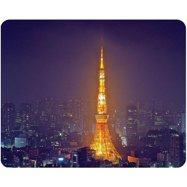 AD Publishing 'Japanese Tower' Peel and Stick Mouse Pad