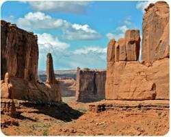 AD Publishing 'Arches National Park' Peel and Stick Mouse Pad