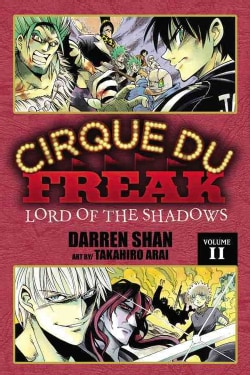 Cirque Du Freak 11: Lord of the Shadows (Paperback)