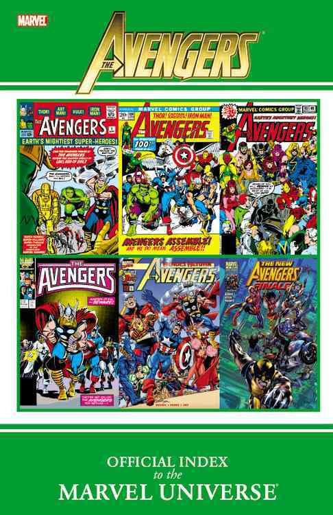 Avengers: Official Index to the Marvel Universe (Paperback) - Thumbnail 0