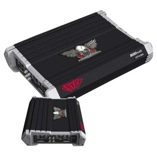 Power Acoustik CRYPT CPT4-800 Car Amplifier - 800 W PMPO - 4 Channel
