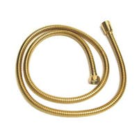 Vintage 59-inch Polished Brass Replacement Shower Hose
