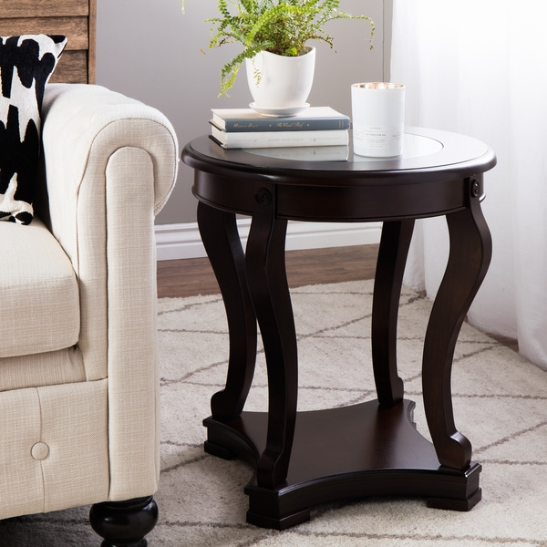 Shop Copper Grove Geurts Espresso End Table Free Shipping Today