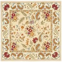 Safavieh Handmade Paradise Ivory Wool Rug - 8' x 8' Square