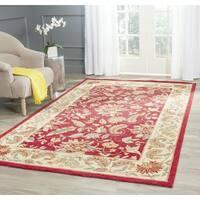 Safavieh Handmade Paradise Red Wool Rug - 8' x 8' Square