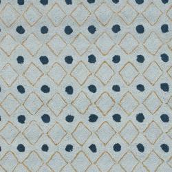 Safavieh Hand-hooked Chelsea Resorts Blue Wool Rug (8'9 x 11'9) - Thumbnail 2