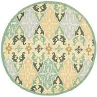 Safavieh Hand-hooked Chelsea Destiney Country Oriental Wool Rug