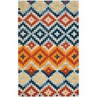 Safavieh Hand-hooked Chelsea Southwest Multicolor Wool Rug - Multi - 7'9 x 9'9