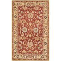 Safavieh Hand-hooked Chelsea Heritages Red Wool Rug (5'3 x 8'3)