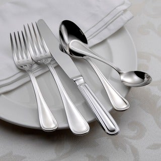 Link to Oneida Omnia Stainless Steel 62-piece Flatware Set (Service for 12) Similar Items in Flatware