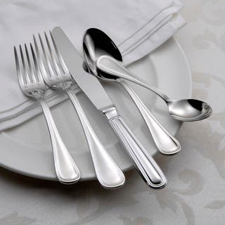 Oneida Omnia Stainless Steel 62-piece Flatware Set (Service for 12)|https://ak1.ostkcdn.com/images/products/5767538/P13494635.jpg?impolicy=medium