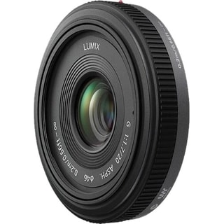 Panasonic H-H020 - 20 mm - f/1.7 - Wide Angle Lens for Micro Four Thi