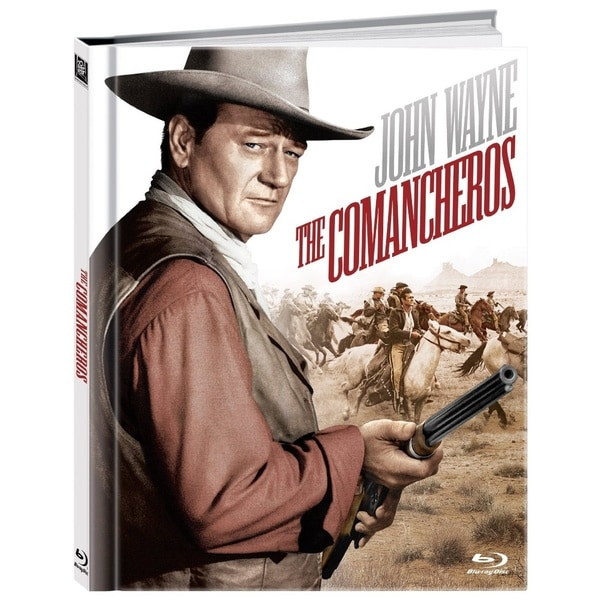 The Comancheros 50th Anniversary Edition DigiBook (Blu-ray Disc)