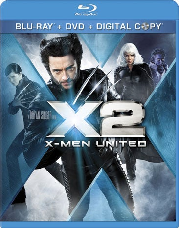 X2: X-Men United (Blu-ray/DVD)