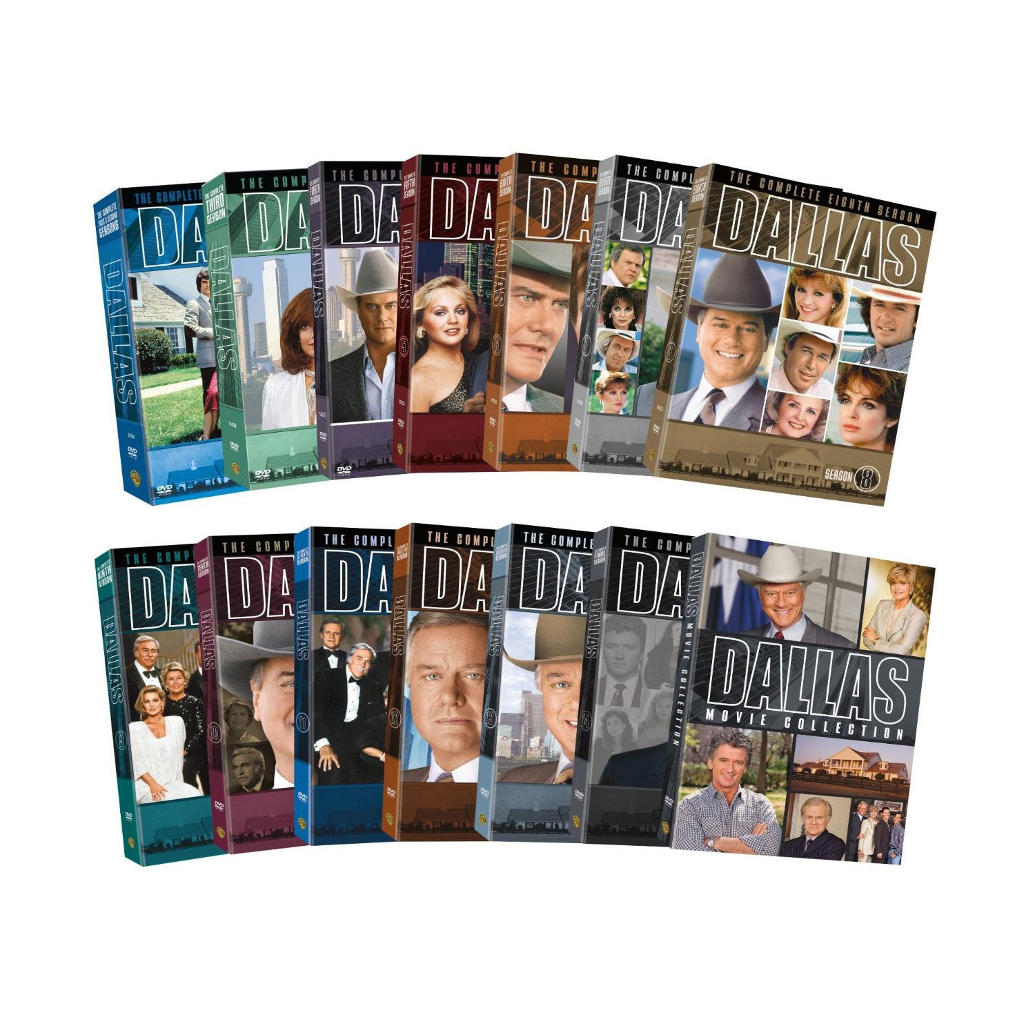 Dallas: Seasons 1-14 and the Movie Collection (DVD)