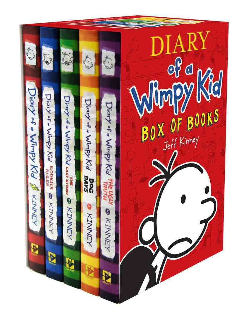 Diary of a Wimpy Kid Box of Books (Hardcover) - Thumbnail 0