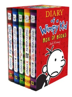 Diary of a Wimpy Kid Box of Books (Hardcover)