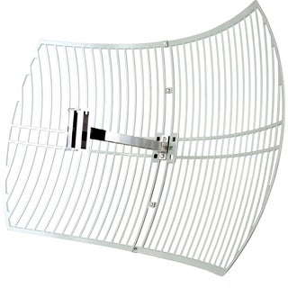 TP-LINK TL-ANT2424B 2.4GHz 24dBi Directional Grid Parabolic Antenna,