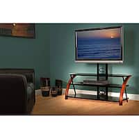 avista numina piano black tv stand with mounting system free shipping today. Black Bedroom Furniture Sets. Home Design Ideas