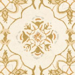 Safavieh Hand-hooked Chelsea Harmony Ivory Wool Runner (2'6 x 8') - Thumbnail 2